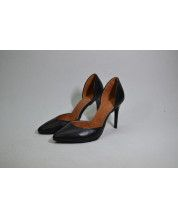 Элегантные туфельки из черной кожи